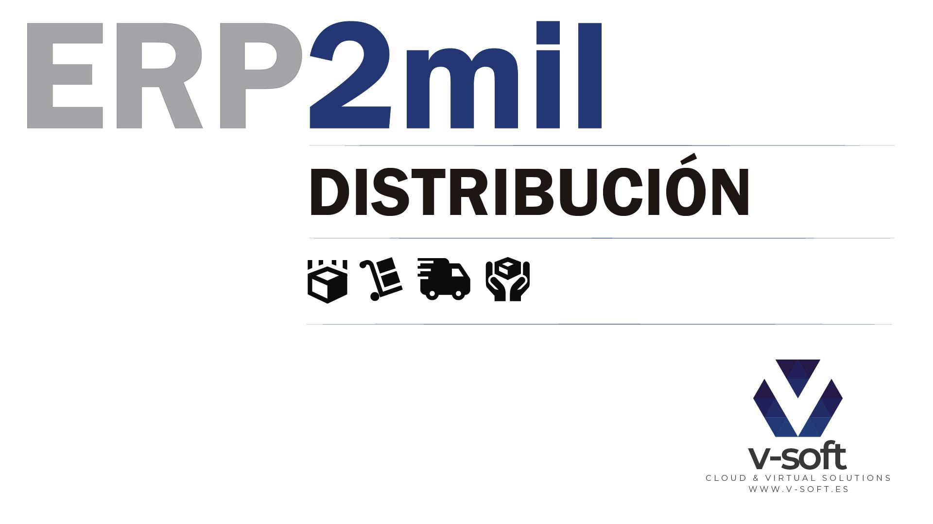 ERP2mil DISTRIBUCION de V-SOFT
