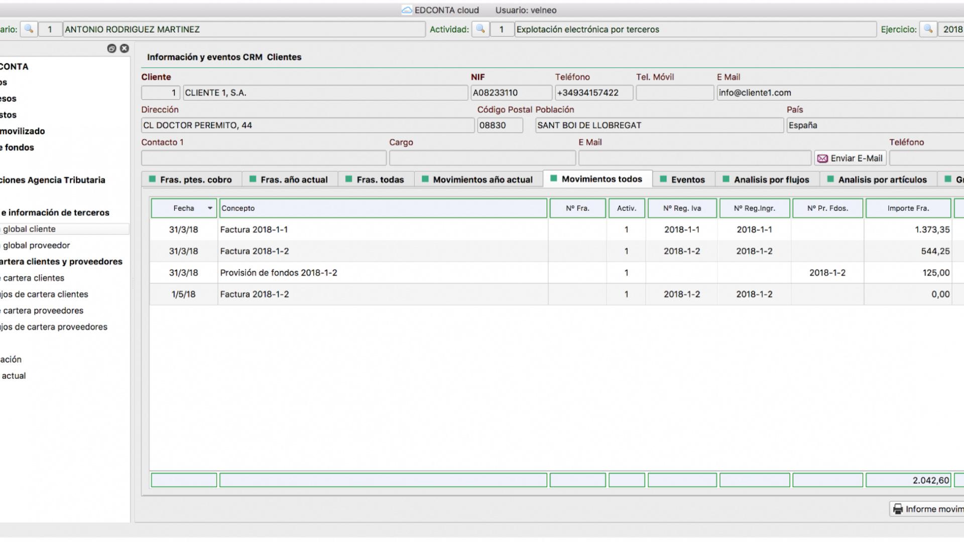 EDCONTA cloud - Autónomos y profesionales
