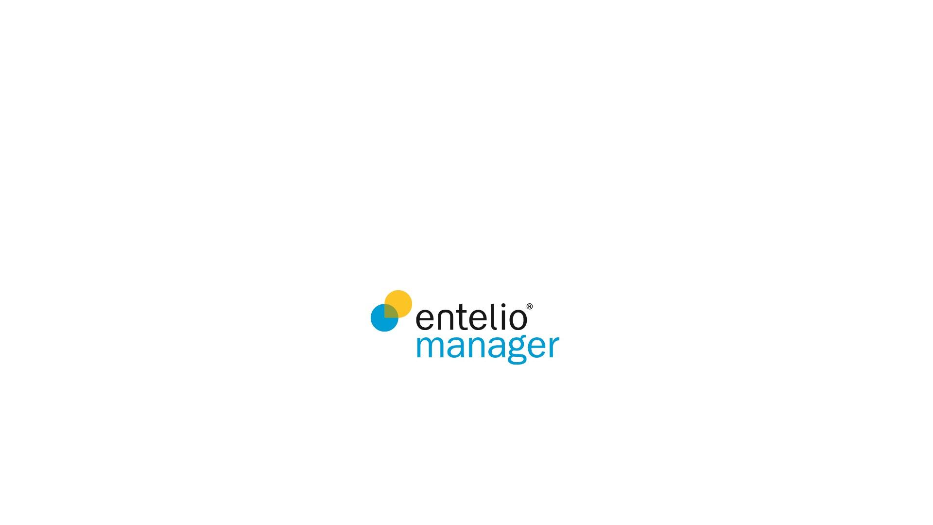 Entelio manager